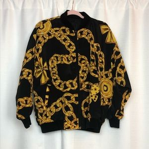 Vintage Gold Chain Jacket OSFM